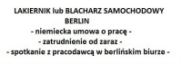 Lakiernik samochodowy – dam pracę w Niemczech, Berlin