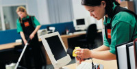 Praca w Niemczech przy sprzątaniu biur od zaraz z podstawowym językiem Frankfurt nad Menem