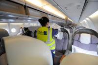 Ogłoszenie pracy w Niemczech od zaraz sprzątanie samolotów Frankfurt nad Menem