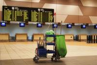 Niemcy praca przy sprzątaniu terminala lotniska od zaraz Düsseldorf 2019