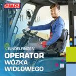 Operator wózka widłowego Niemcy praca od zaraz na magazynie w Sindelfingen k. Stuttgartu